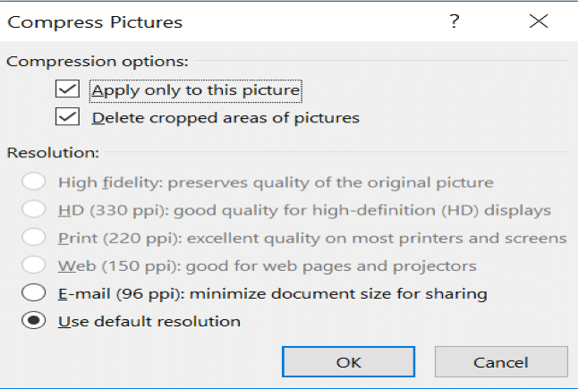 compressing powerpoint, reducing file size, compress ppt